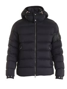 Moncler - Aravis down jacket in black with removable hood