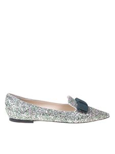 Jimmy Choo - Gala ballet flats in Peppermint color