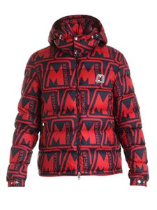 Moncler - Frioland down jacket in red and black