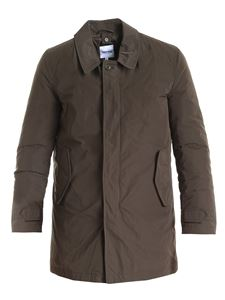 Aspesi - Insolito down jacket in green