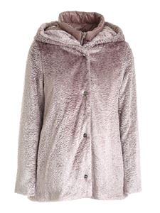 Herno - Synthetic fur jacket in pink