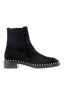 Stuart Weitzman - Cline suede ankle boots in black