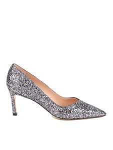 Stuart Weitzman - Anny 70 pumps in silver color