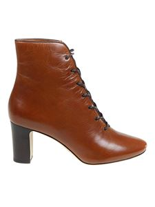 Tory Burch - Vienna ankle boots in brown