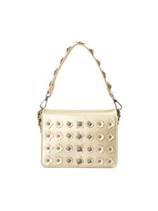 John Richmond - Kiss Small cross body bag in golden color