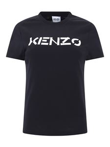 Kenzo - Logo cotton T-shirt in black