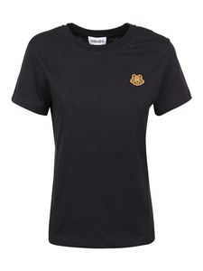 Kenzo - Tiger patch T-shirt in black