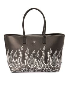 John Richmond - Flame bag in black