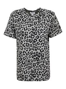 Kenzo - Animal print T-shirt in green