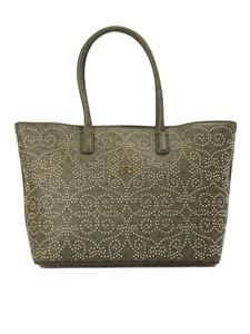 John Richmond - Stopper large bag in green