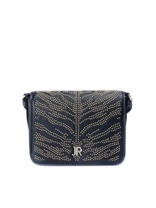 John Richmond - Golden studs detailed bag in black
