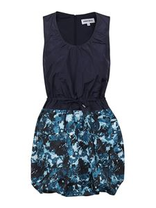 Kenzo - Mini blue dress featuring drawstring