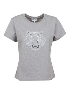 Kenzo - Tiger embroidery T-shirt in grey