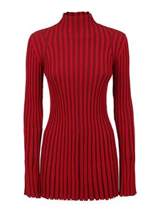 Kenzo - Ribbed turtleneck sweater in red