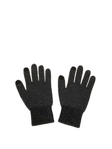 Kenzo - Wool touch gloves in black