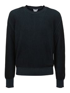 Kenzo - Ribbed sweater in blue