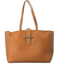 Ermanno by Ermanno Scervino - New Bea shopping bag in brown