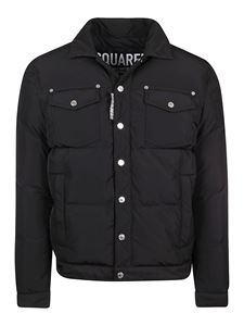 Dsquared2 - Tech fabric quilted jacket in black