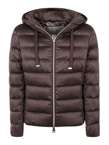 Herno - Tech fabric padded hooded jacket