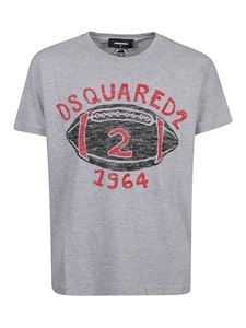 Dsquared2 - Logo printed t-shirt in grey