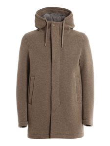 Herno - Wool blend padded coat