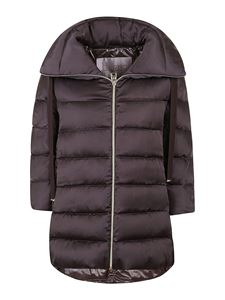 Herno - Funnel neck quilted padded coat