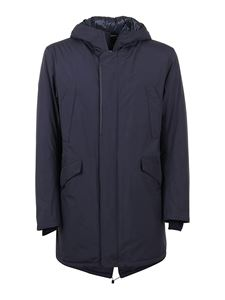 Herno - Gore-Tex® padded parka in blue