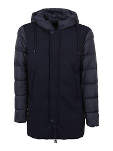 Herno - Quilted padded hooded jacket