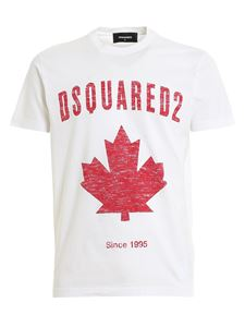 Dsquared2 - Logo print t-shirt in white