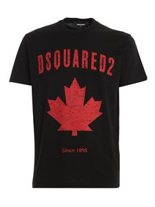 Dsquared2 - Logo print t-shirt in black
