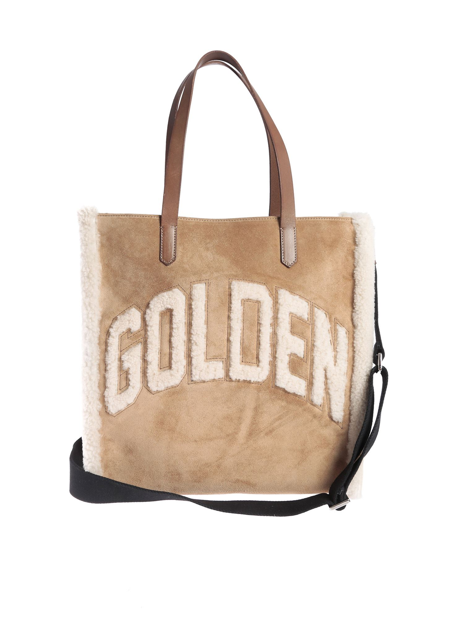 Golden Goose CALIFORNIA BAG IN CAMEL COLOR