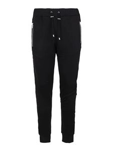 Balmain - Cotton sweatpants in black