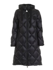 Moncler - Duroc long parka in black featuring hood