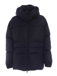 Moncler - Tiac down jacket in black featuring hood