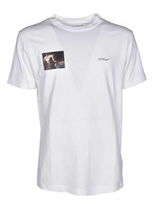 Off-White - T-shirt Caravaggio Angel bianca