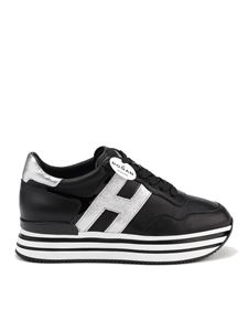 Hogan - Midi H222 sneakers with laminated inserts