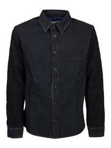 Off-White - Denim shirt in black