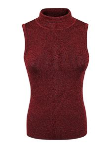 Pinko - Ask Pull top in dark red
