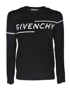 Givenchy - Pullover in black with Givenchy logo