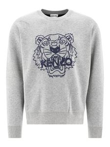 Kenzo - Tiger embroidery pullover in grey