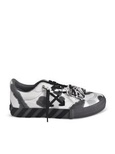 Off-White - Tie Dye Low Vulcanized sneakers in black