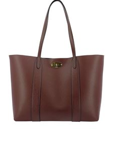 Mulberry - Bayswater small tote in burgundy color