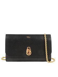 Mulberry - Amberley leather clutch bag in black