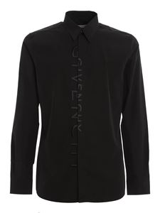 Givenchy - Logo embroidery shirt in black