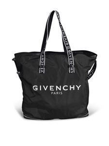 Givenchy - Branded foldable tote bag in black
