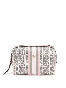 Tory Burch - Gemini Link small cosmetic case in pink