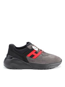 Hogan - Sneakers Active One grige e rosse