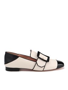 Bally - Janelle leather slippers in cream color