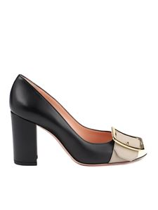 Bally - Jackie leather pumps in black