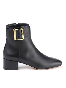 Bally - Jay leather ankle boots in black